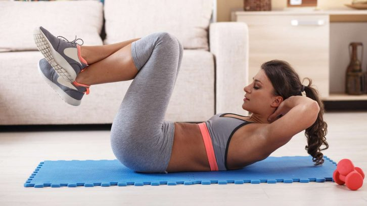 How is fitness goals customised through home training?