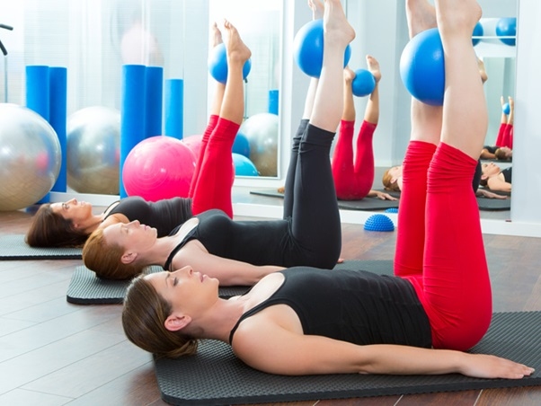 Pilates give you a complete relaxation