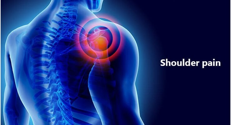 What is the cure for shoulder pain