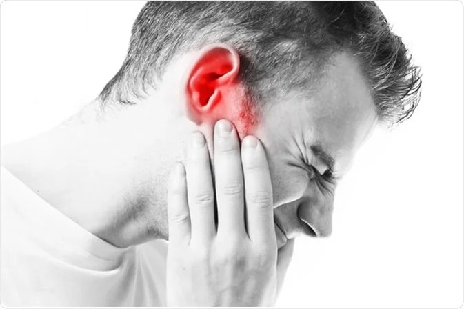 Can ear problems affect the brain?